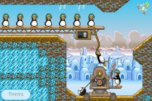 img 0011 300x200 App Review: Crazy Penguin Catapult by Digital Chocolate, Inc.