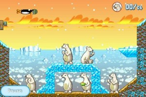 img 00141 300x200 App Review: Crazy Penguin Catapult by Digital Chocolate, Inc.