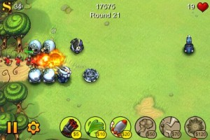fieldrunners1 300x200 Quick Look: Fieldrunners by Subatomic Studios, LLC