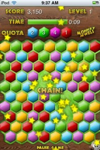 monkey jewels6 200x300 App Review: Monkey Jewels by Pocketfun/Neil Balharrie