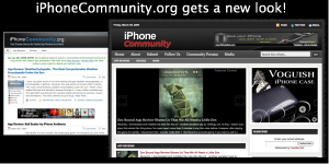 newlook 300x150 iPhoneCommunity Gets a New Look!