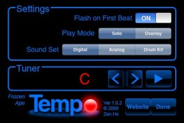 tempo1 269x180 custom App Review: Tempo is a Musicians Best Friend