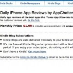 AppChatter.com is now publishing to the Amazon Kindle