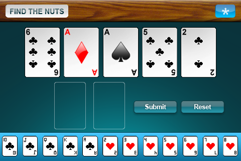 findthenuts1 Find The Nuts: Texas Holdem Trainer by Cracked Eggs Productions