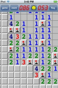 minesweeper2 200x300 App Review: Minesweeper Classic by Liberty For One