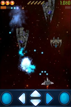 7509 sfc iphone screenshot02 Space Falcon Commander by Rapid Turtle Games