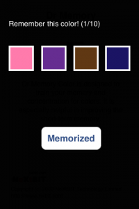 drmemorycolor1 200x300 Dr Memory Color by NeXtBIT Technology Limited