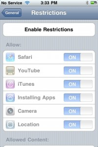 photo 22 200x300 A Tour of Parental Controls on iPhone OS 3.0