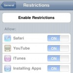 A Tour of Parental Controls on iPhone OS 3.0