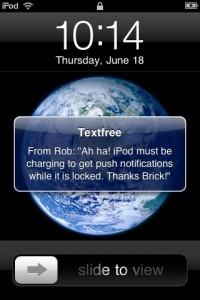 textfreecorrected1 200x300 A Tour of Push Notifications Using Textfree Unlimited