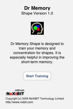 8030 dr memory shape screenshot1 Dr Memory Shape by NeXtBIT Technology Limited