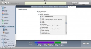 itunes window 300x162 How To: Install Apps onto Your iPhone or iPod Touch