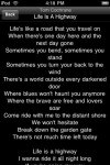 lyrics4 100x150 App Review: Lyrics+ by ShroederDev