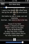 lyrics6 100x150 App Review: Lyrics+ by ShroederDev