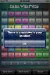 sevens5 100x150 App Review: Sevens by Nigel Hanbury