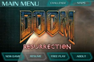 doomresurrection2 300x200 App Review: Doom Resurrection by Id Software
