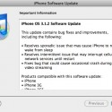 Apple Releases iPhone OS Update 3.1.2 for iPhone/iPod Touch