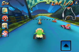 cocoto kart racer3 300x200 App Review: Cocoto Kart Online Brings Multiplayer Racing to the iPhone