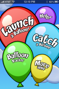 balloons1 200x300 App Review: Balloons! by Shiny Development