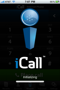 icall screen 200x300 Traveling with Your iPhone? Evaluating and Using VoIP While On the Go