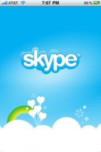 skype 200x300 Traveling with Your iPhone? Evaluating and Using VoIP While On the Go