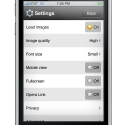 05 settings 125x125 Approved: Opera Mini for iPhone and iPod Touch [Updated]