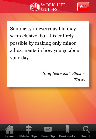 12244 achieving screen 1 Work Life Guide: Achieving Simplicity at Work and at Home by Breathing Space Institute