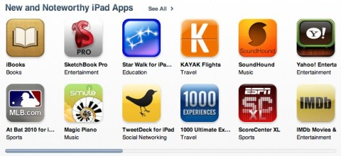 ipadapps 480x220 iPad Apps Hit iTunes in Storm, More Expensive Than iPhone Apps