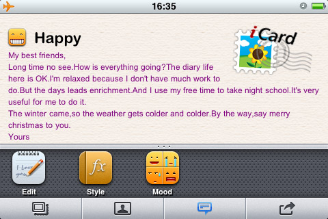 12410 screenshot2 iCard 2010 by wondershare