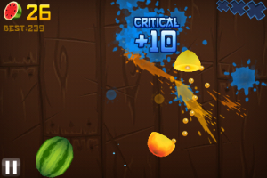 fruitninja11 e1274938846724 300x200 App Review: Fruit Ninja by Halfbrick Studios