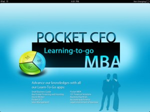 pocketcfo ipad screenshot 1 300x225 PR: Pocket CFO Turns the iPad into a Mobile Classroom