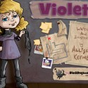 Violet &#8211; Interactive Children&#8217;s Storybook by My Black Dog Books