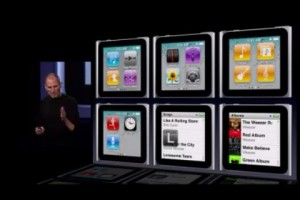 iPods4gannounce26 300x200 Apple Announces New iPod Shuffle and Nano