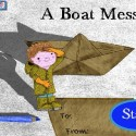 A Boat Message by Glitchy Pixel