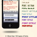 Font Dresser Free by thumbsoft