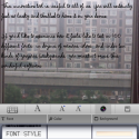 Font Editor lite by thumbsoft