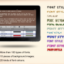 Font Editor by thumbsoft