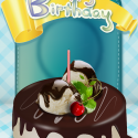 Birthday Cake(Party Necessity) by waliInc