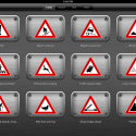 17677 Traffic signs 125x125 Pocket Signs by Attila Sandor Gerendi