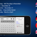 Holiday Pro lite  by thumbsoft