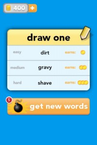 Draw Something4 200x300 App Review: Draw Something by OMGPOP